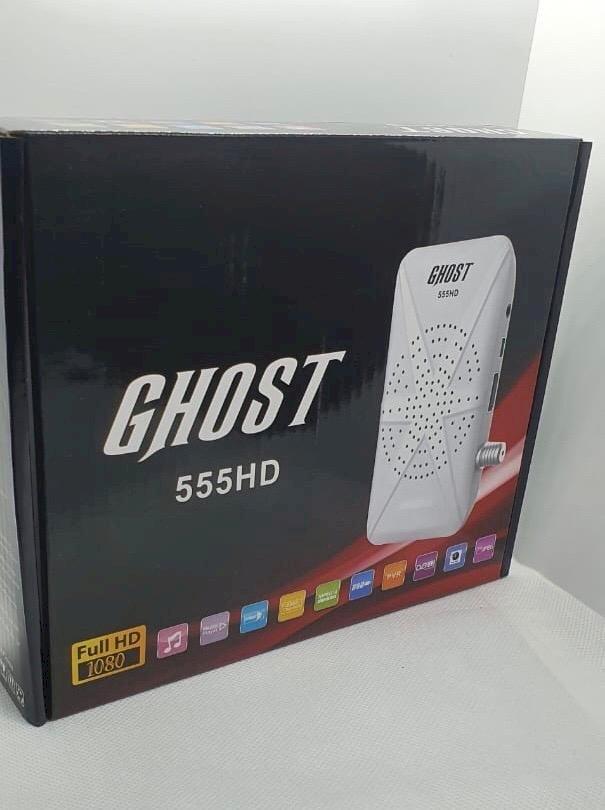 احدث فلاشه داكى GHOST 555 HD 4 MEGA 1506TV  مرفق احدث سوفت مدمج بملف قنوات شهر 6 - 2020