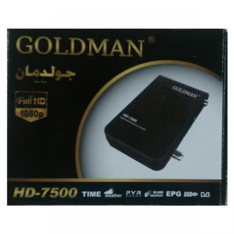 احدت مكتبة ملفات خط عريض عربي وانجليزى ل جهاز Goldman HD7500 بتاريخ 1\4\2021